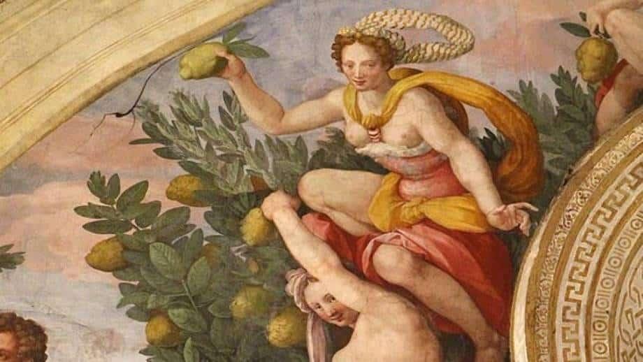 Esperidi – Miti Greci